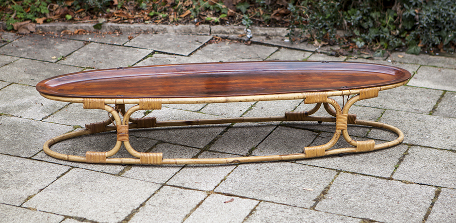bamboo_Coffee_table_Rosewood_Top