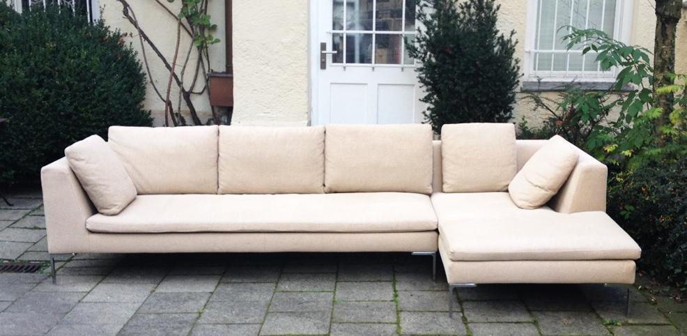 b b italia charles sofa schlicht designm bel. Black Bedroom Furniture Sets. Home Design Ideas