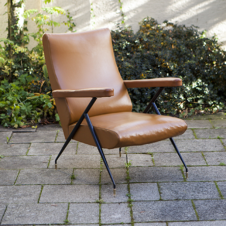 Italian_Lounge_Chair_1950_Stuhl_Sessel_Italien