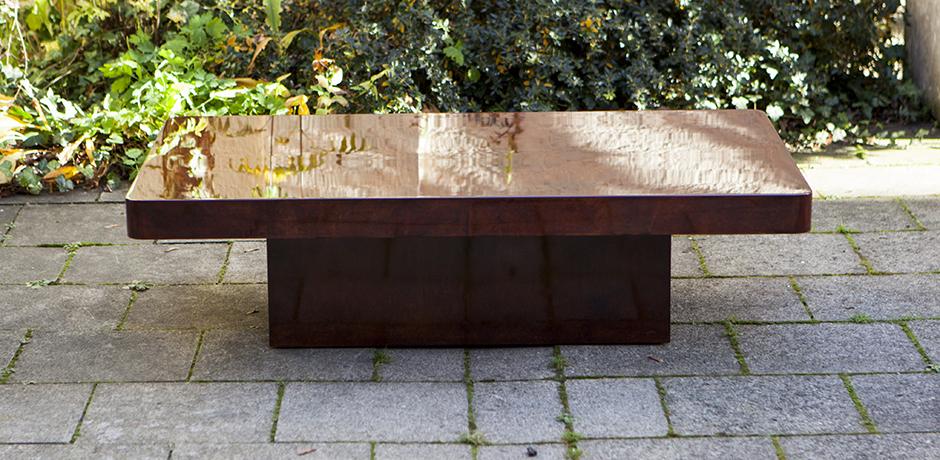 Modern_Aldo_Tura_Red_Goatskin_Coffee_Table_Tisch