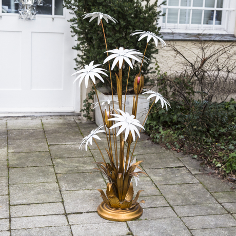 Bicolor_Jet_Set_Style_Flower_Lamp_Leuchte