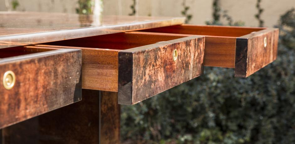 Elegant_Aldo_Tura_brown_goatskin_Lady_desk