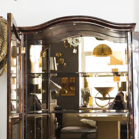 Elegant_Aldo_Tura_Glass_Mirror_Cabinet