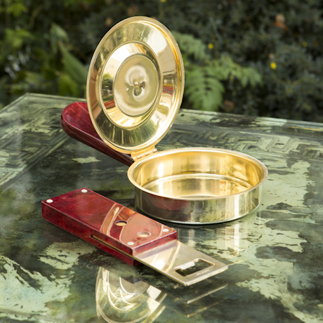 set_aldo_tura_gold_red_goatskin