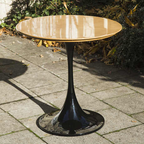 Aldo_ Tura_Goatskin_Tulip_Dining_Table