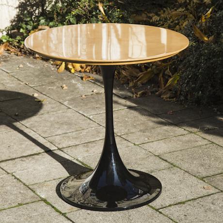 Aldo_ Tura_Goatskin_Tulip_Dining_Table