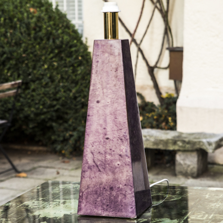 Aldo_Tura_Pyramid_Purple_Goatskin_Table_Lamp_460px