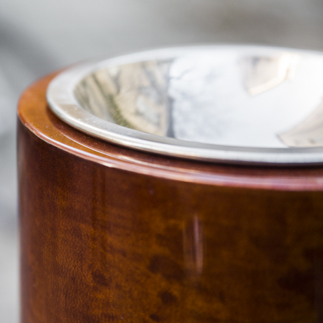 ashtray_aldo_tura_brown_lacquered_goatskin