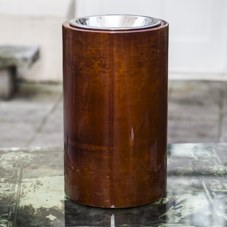Aldo_Tura_Standing_Ashtray_Brown_Goatskin_460px