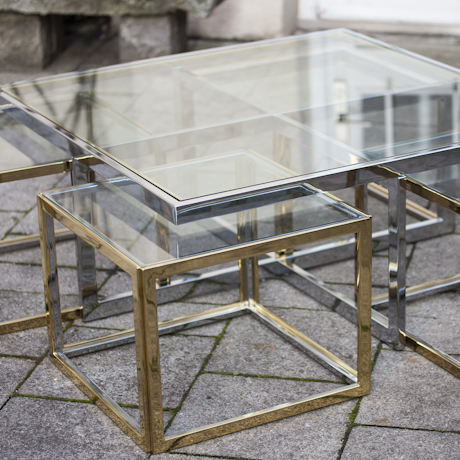 golden_silver_brass_bicolor_table_maison_charles_attributed