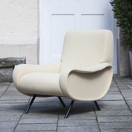 Schlichtes DesignMarco_Zanuso_Lady_Chair_for_Arflex