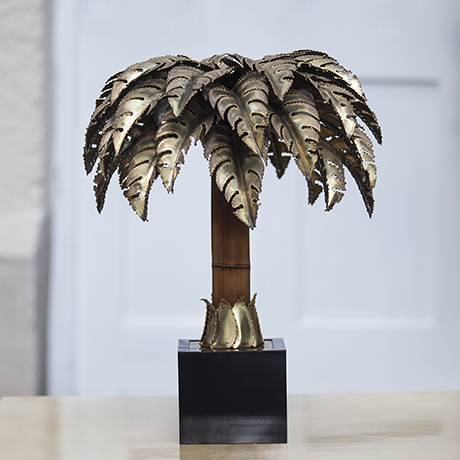 Schlichtes DesignMaison_Jansen_Palm_Tree_Table_Lamp