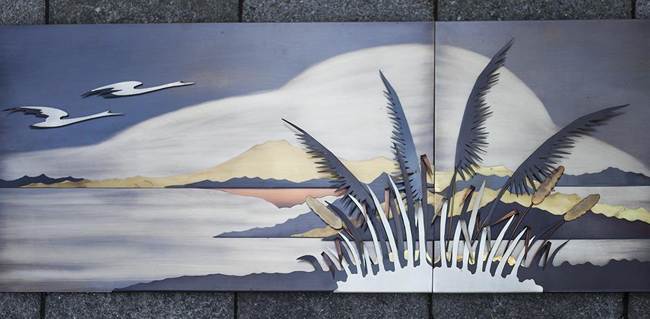 Schlichtes DesignCurtis_Jere_Style_Bicolor_Beach_Wall_Object