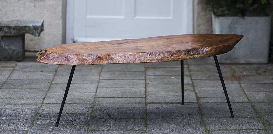 Schlichtes DesignTree_Trunk_Coffee Table_Nakashima_Style