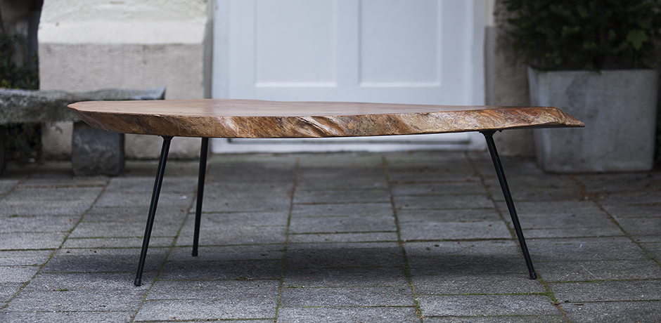 Tree Trunk Coffee Table Nakashima Tisch Kaffeetafel Design French