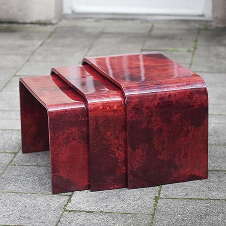 Aldo_Tura_Nesting_Tables_Red_2