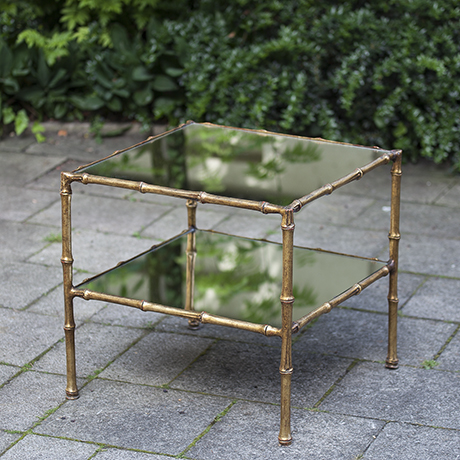 bamboo_side_table_french_design_gold_golden_faux_tisch