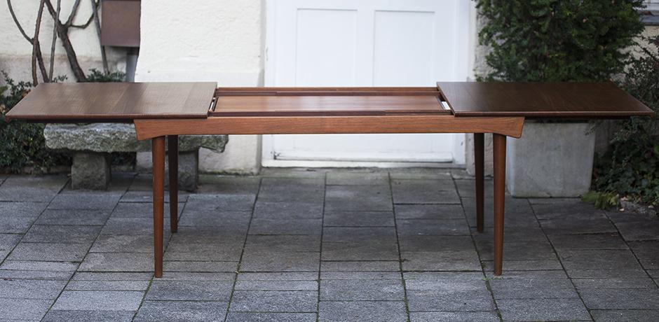 Finn Juhl Extending Dining Table 1970 Schlicht Designmbel