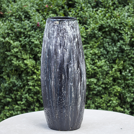 Helmut_Schaeffenacker_German_Art_Pottery_Black_Ceramic_Vase_schwarze_Keramik_deutsches_design