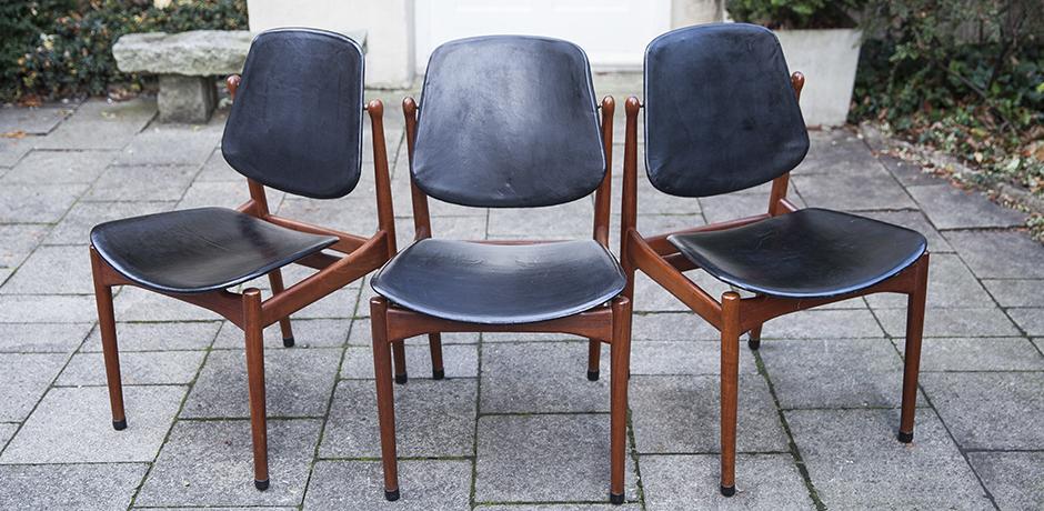 dining_chairs_Stuhl_Teak_Leder