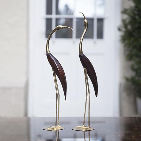 herons_sculpture_Reiher_Skulptur