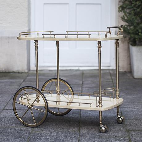 aldo_tura_bar_cart_Barwagen_creme