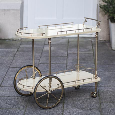 aldo_tura_bar_cart_goatskin_Barwagen