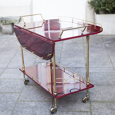 aldo_tura_bar_cart_red_goatskin