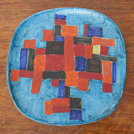 Guido_Gambone_plate_ceramic