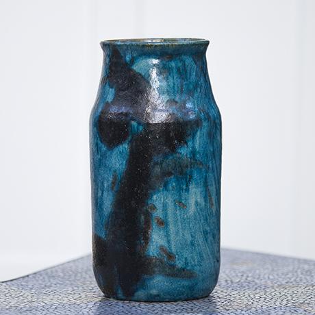 Guido_Gambone_turquoise_vase