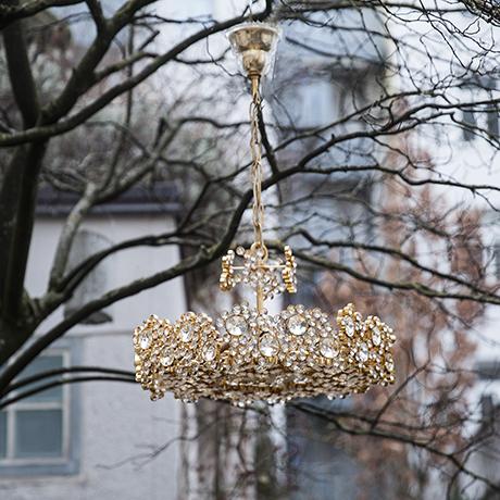 golden_palwa_crystal_chandelier