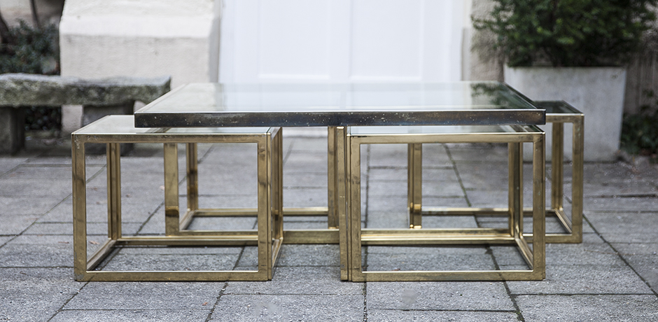 table_nesting_cubes_brass_chrome