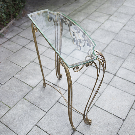 table_glass_mirror_console