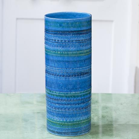 Aldo_Londi_ceramic_vase_blue