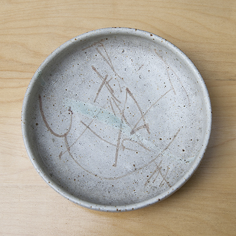Bruno_Gambone_grey_ceramic_plate