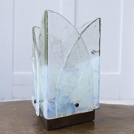 Murano_Mazzega_blue_table_lamp