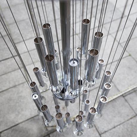Sciolari_chandelier_silver_metallic_lamp