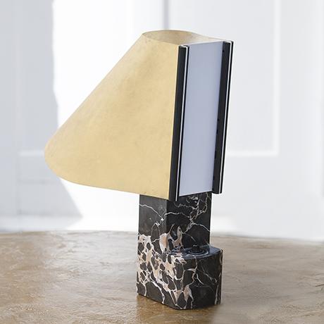 Stilnovo_Lampe_schwarz_Marmor_creme.  Stilnovo_lamp_marble_vintage_furniture.  Stilnovo_table_lamp_marble_interior. Stilnovo_table_lamp_marble_design