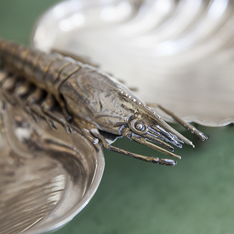 german_crab_plate_solid_silver