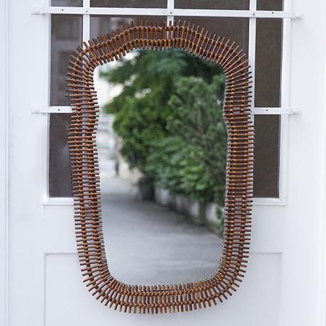 Albini_mirror_oval_bamboo_1