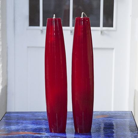 Murano_pendant_lamp_red_rot
