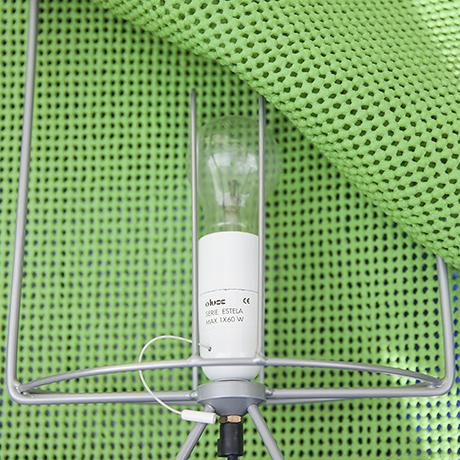 Estela_Oluce_lamp_green_design