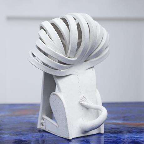 Gambone_Keramikskulptur_weiss_weiß