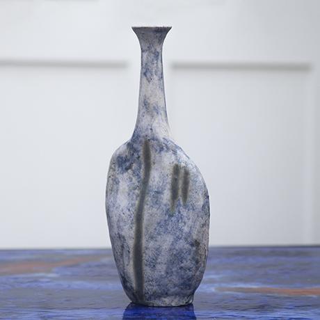 Gambone_vase_blue_glazed