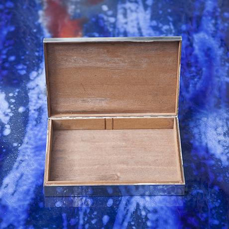 Hermes_Silberkiste_Zigarren_Kiste