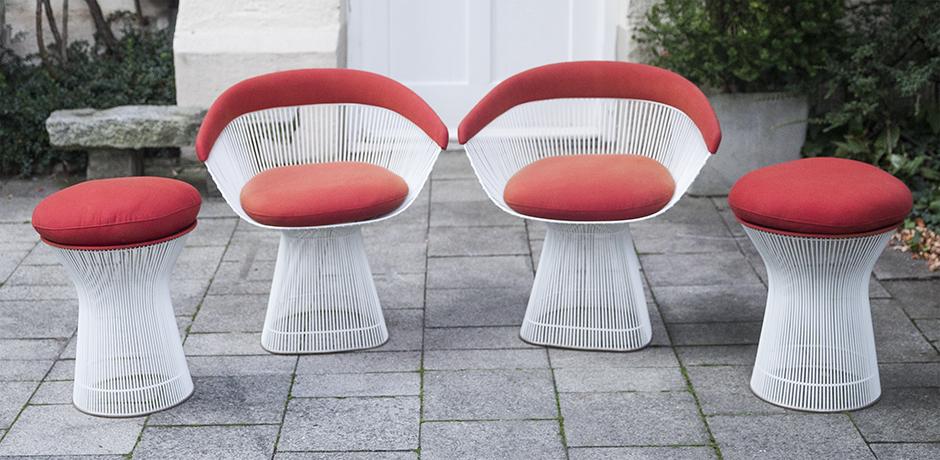 Schlichtes DesignPlatner_Knoll_armchairs_stools