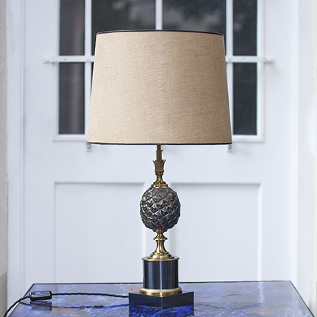 Maison_Charles_pineapple_lamp_bronze