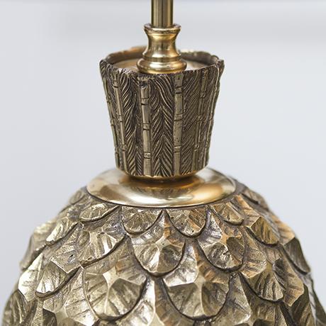 Maison_Charles_pineapple_table_lamp_golden