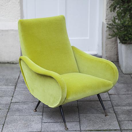 Zanuso_lime_armchair_interior_design