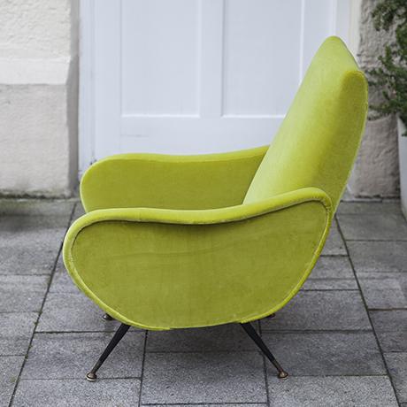 Zanuso_green_armchair_furniture